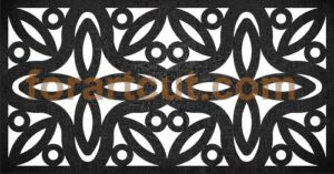 dxf files for cnc - deco panel