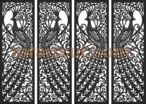 dxf files for cnc - panel screen