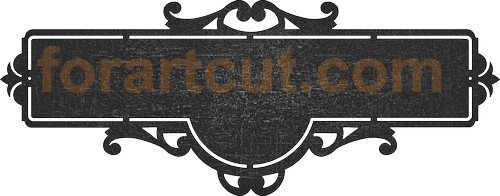 Files for CNC art cutting – ForArtCut – dxf format files for CNC