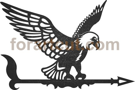 dxf files for cnc - weathervane