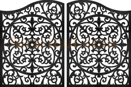 dxf files for cnc - art gates